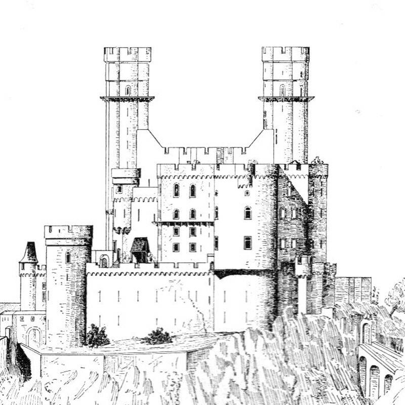 Burg Reichenberg nach Dillich